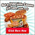 120x120 - FREE $100 Little Caesars