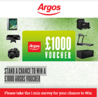 120x120 - Answer and WIN a £1000 Argos Voucher!