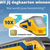 120x120 - Win 2 gratis dagkaarten met de trein!