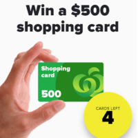 120x120 - Win a $500 Woolworths GiftCard!