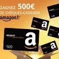 70x70 - Gagnez un cheque cadeau amazon.fr de 500 EUR!