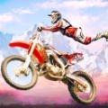 70x70 - Dirt Bike Race Motocross Stunt