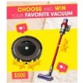 70x70 - Win your favorite vacuum now!