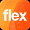 70x70 - Orange Flex